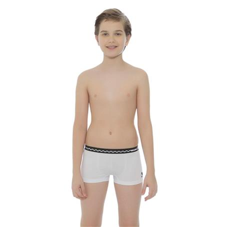 Cueca boxer infantil sem costura
