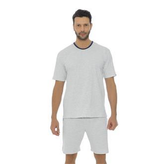 Pijama de malha mescla com malha 100% algodão