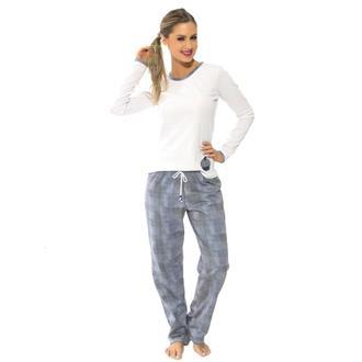 Pijama comprido de bionature e moletinho