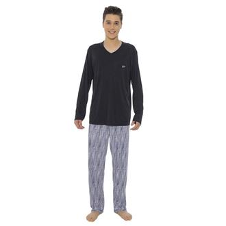 Pijama juvenil de microfibra amni
