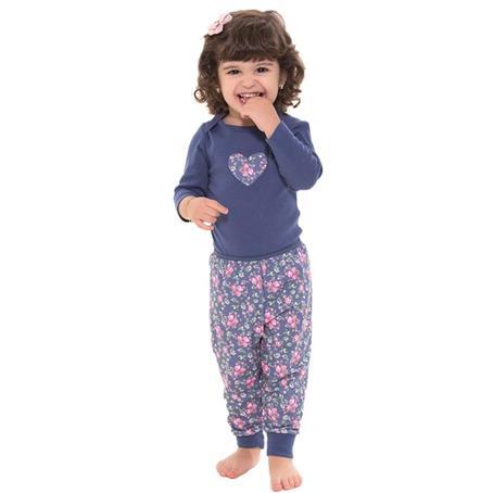 Pijama baby em bionature e viscoprint