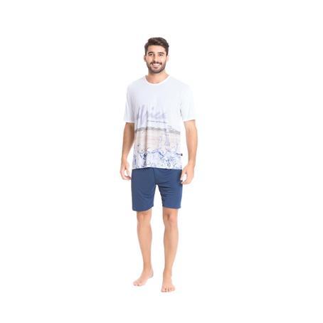Pijama de microfibra