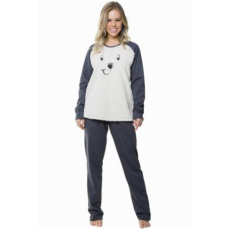 Pijama comprido moletinho
