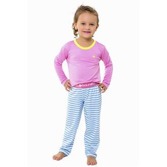 Pijama infantil comprido viscose e viscoflex