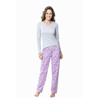 Pijama comprido bionature e moletinho