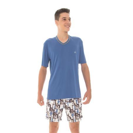 Pijama juvenil de microfibra