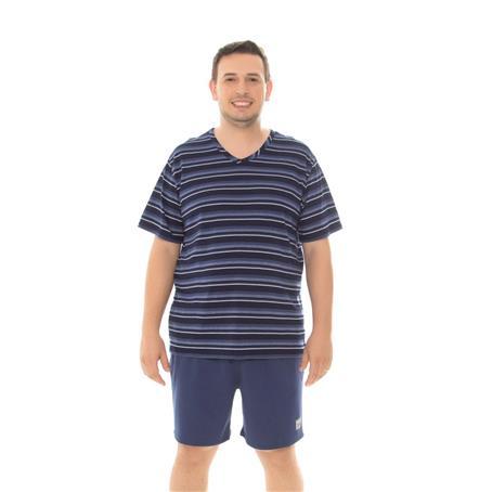 Pijama viscodegrade e malha 100% algodão