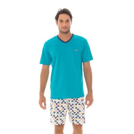Pijama de malha 100% algodão