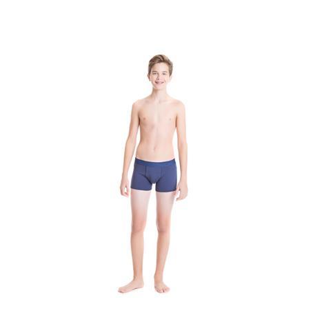 Cueca boxer juvenil de cotton