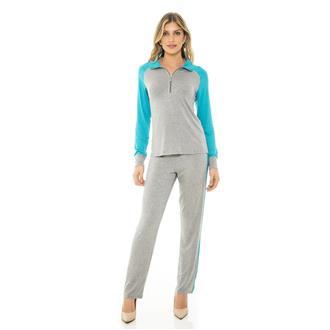 Pijama comprido de viscose