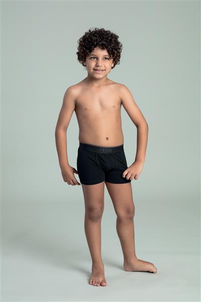 Cueca boxer infantil cotton comfort
