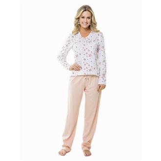 Pijama comprido malha 100% algodão