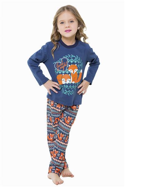 Pijama infantil comprido malha