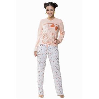 Pijama comprido malha algodao