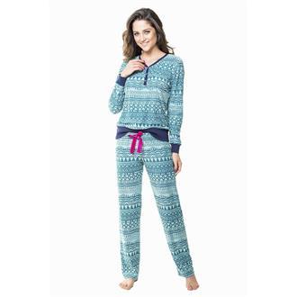 Pijama comprido malha etnico