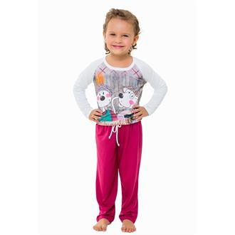 Pijama infantil comprido viscose