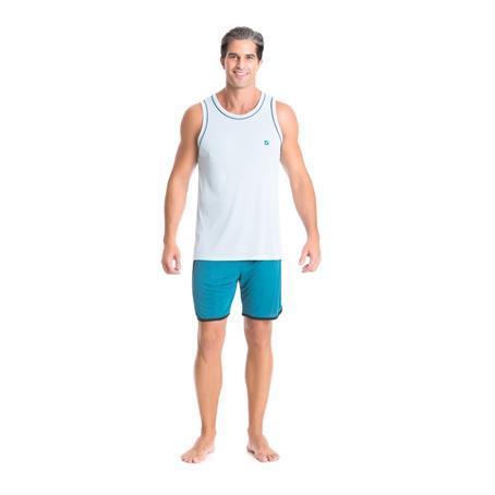 Pijama regata sport microfibra