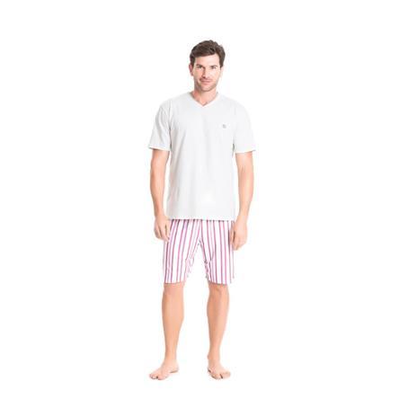 Pijama malha 100% viscose plana
