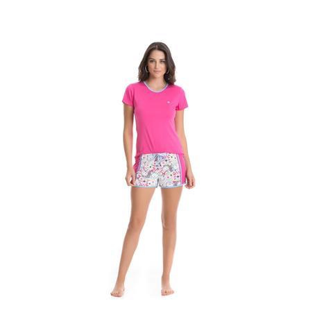Pijama Curto Viscose Microfibra