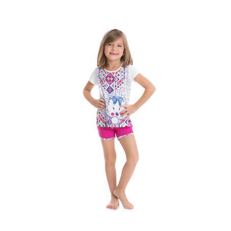 Pijama Infantil Microfibra Viscose