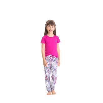 Pijama Infantil Viscose Microfibra