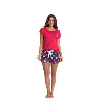 Pijama Curto Viscose Viscoprint