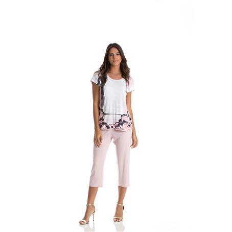 Pijama Microfibra e Viscose