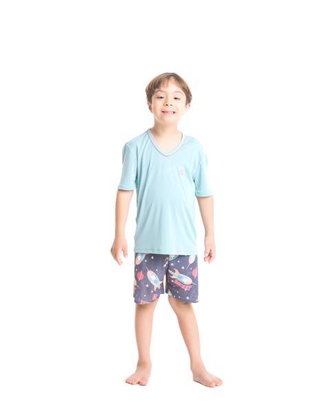 Pijama infantil de microfibra
