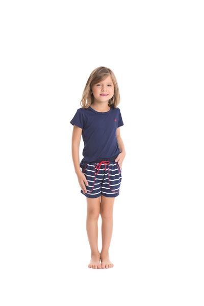 Pijama Infantil Viscose Stretch
