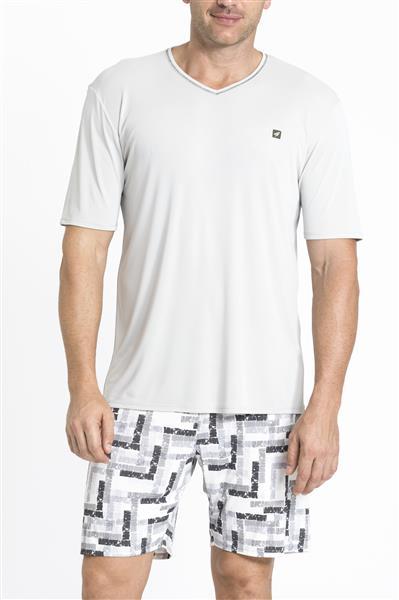 Pijama de microfibra amni