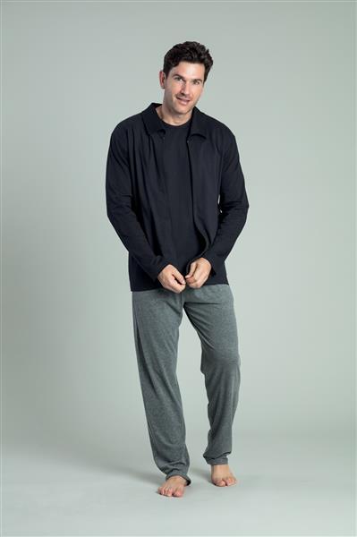 Pijama comprido de malha