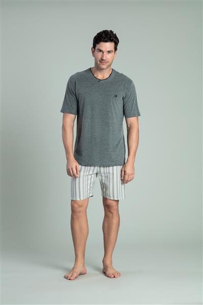 Pijama de malha comfort e viscose