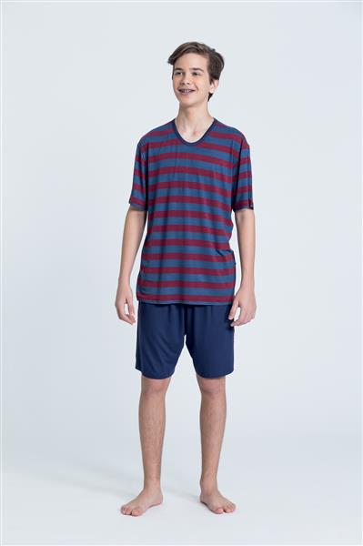 Pijama juvenil de viscoflex e viscose