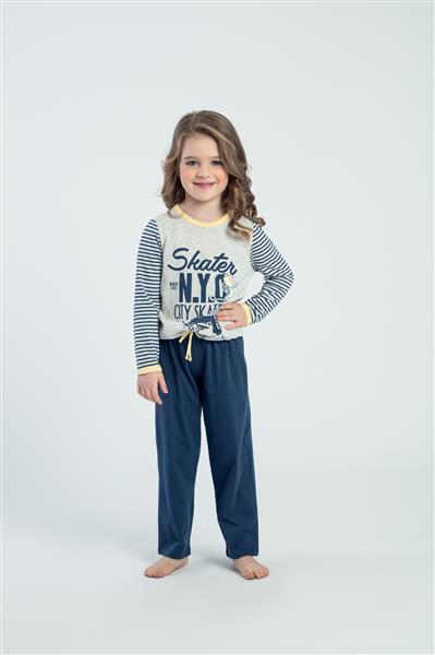 Pijama infantil de malha algodão