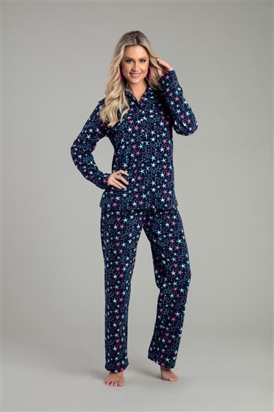 Pijama comprido de micro soft