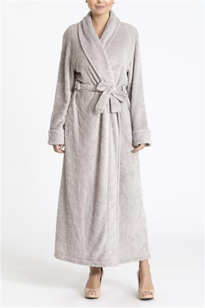 Robe peluciado feminino