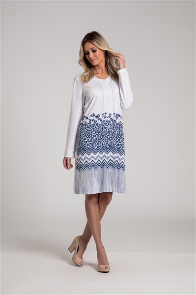 8f246377001d45 Camisola em malha 100% algodão - Recco Lingerie