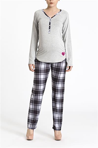 Pijama em viscose e visco confort
