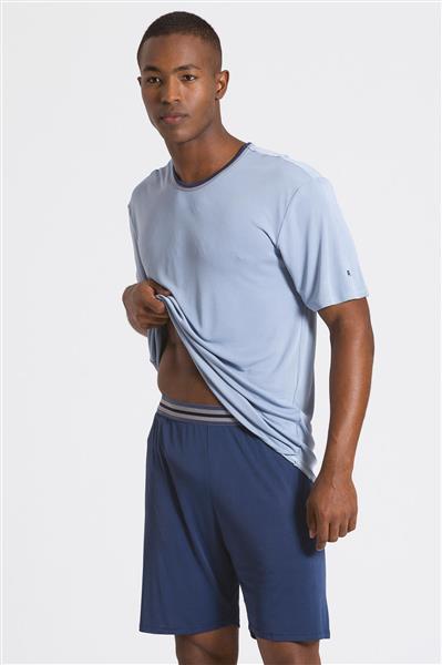 Pijama masculino de microfibra Amni
