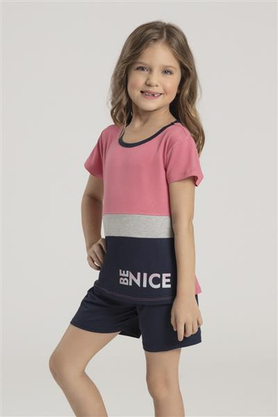 Pijama Infantil de Viscose Strech