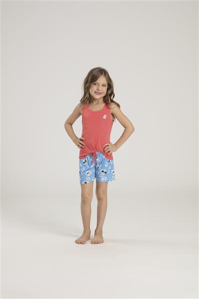 Pijama infantil de Microfibra Amni