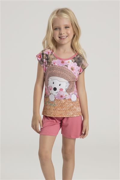 Pijama infantil de super micro